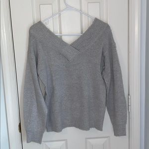 GRAY FRANCESCAS SWEATER NWT